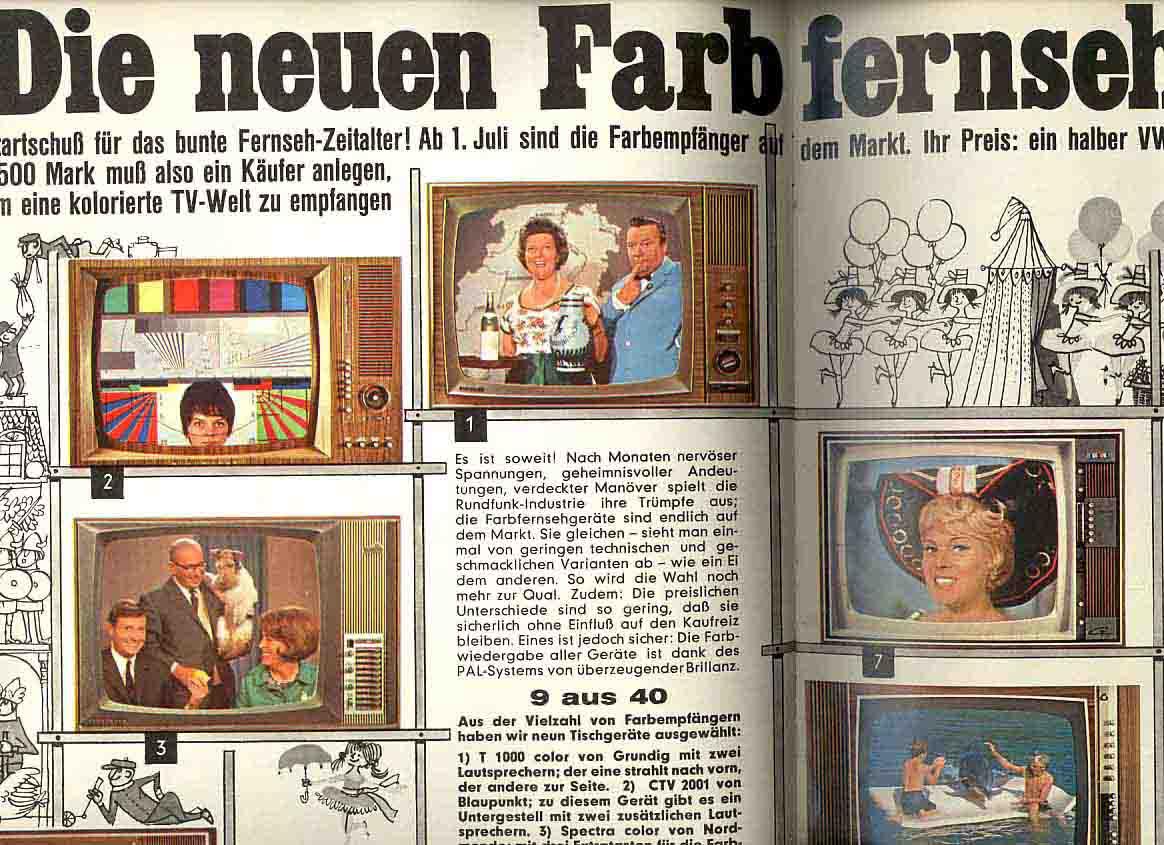 Fernsehen 70er