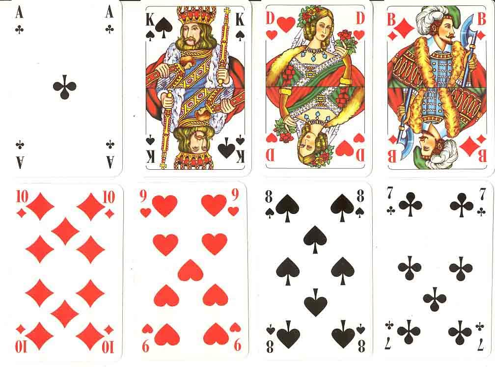 Französische Spielkarten